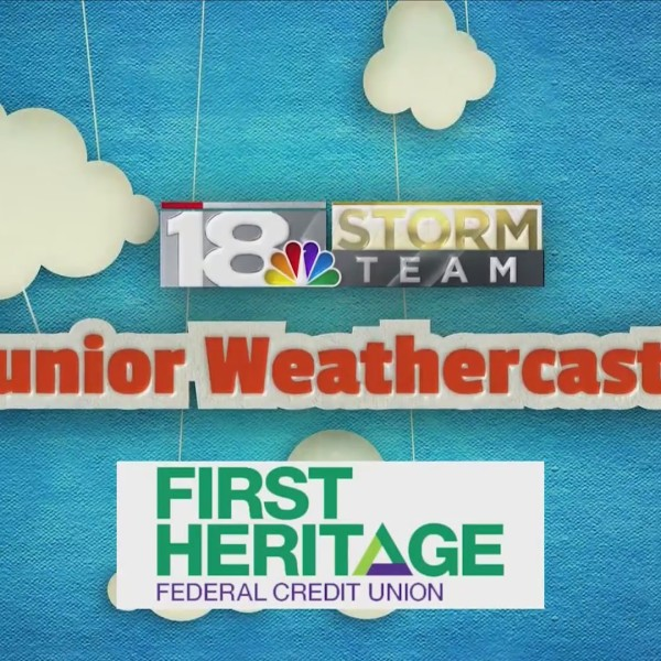 Junior Weathercaster: Israel Pfuntner