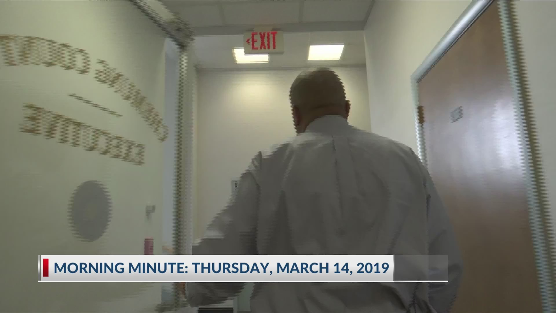 Morning Minute: March 14, 2019