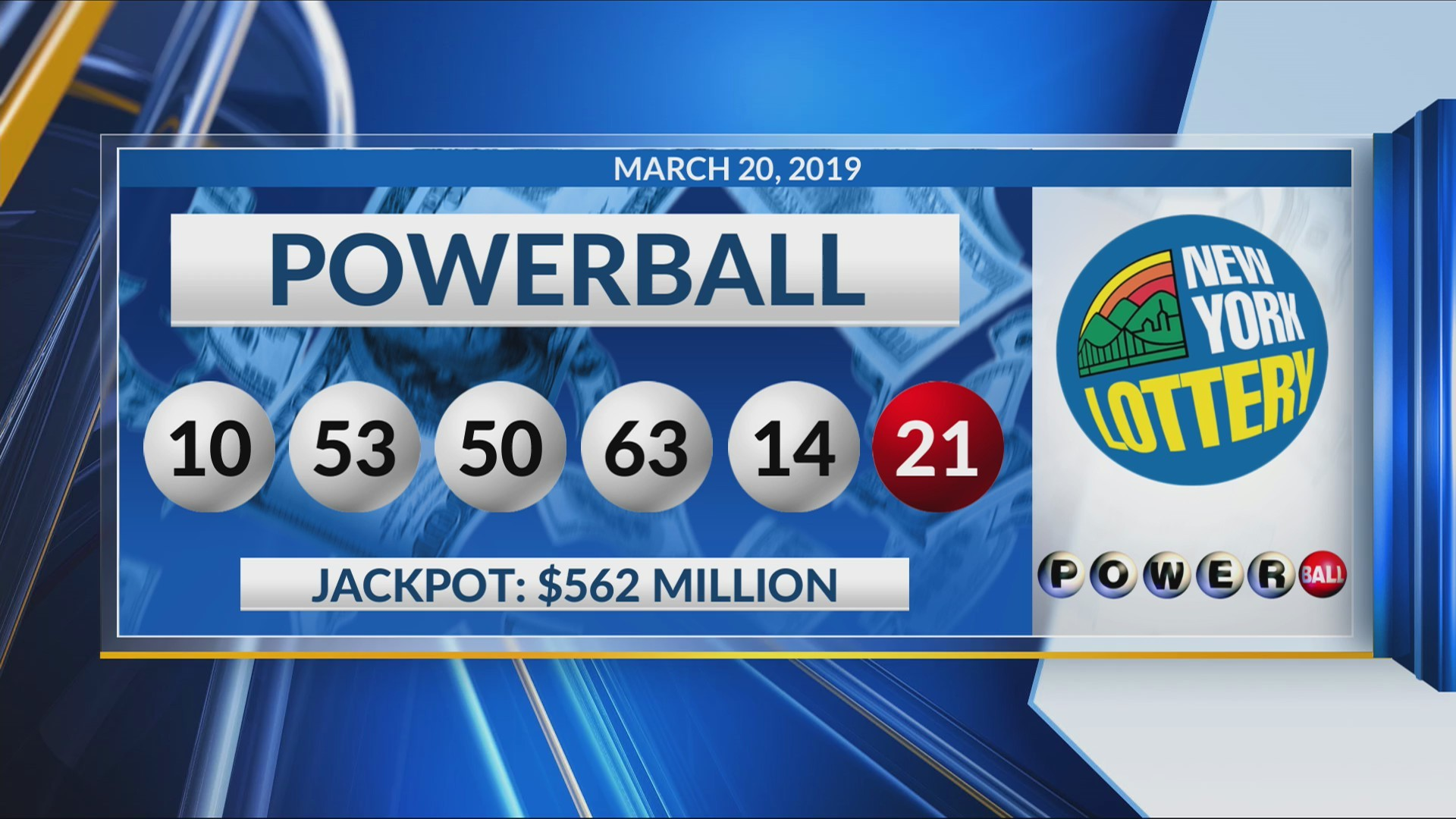 Powerball 562 1 Million Winning Numbers Announced