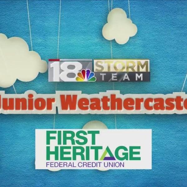Junior Weathercaster: Camden Crowley