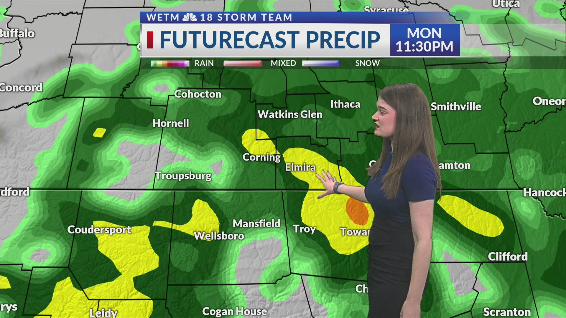Sunday Evening's Forecast Discussion (4/28/2019)
