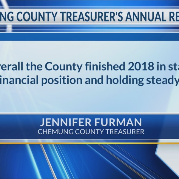"""Chemung County in """"stable financial position"""" according to annual treasurer's report"""