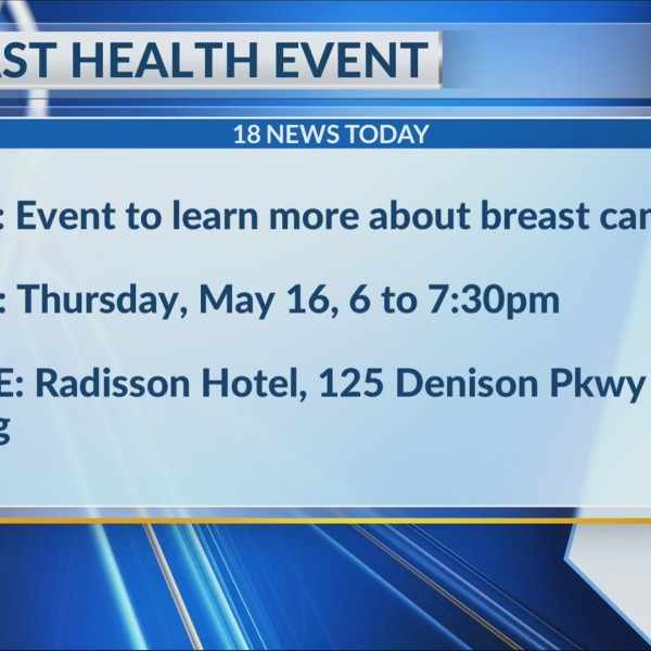 HAPPENING TODAY: Breast cancer health event to be held in Corning