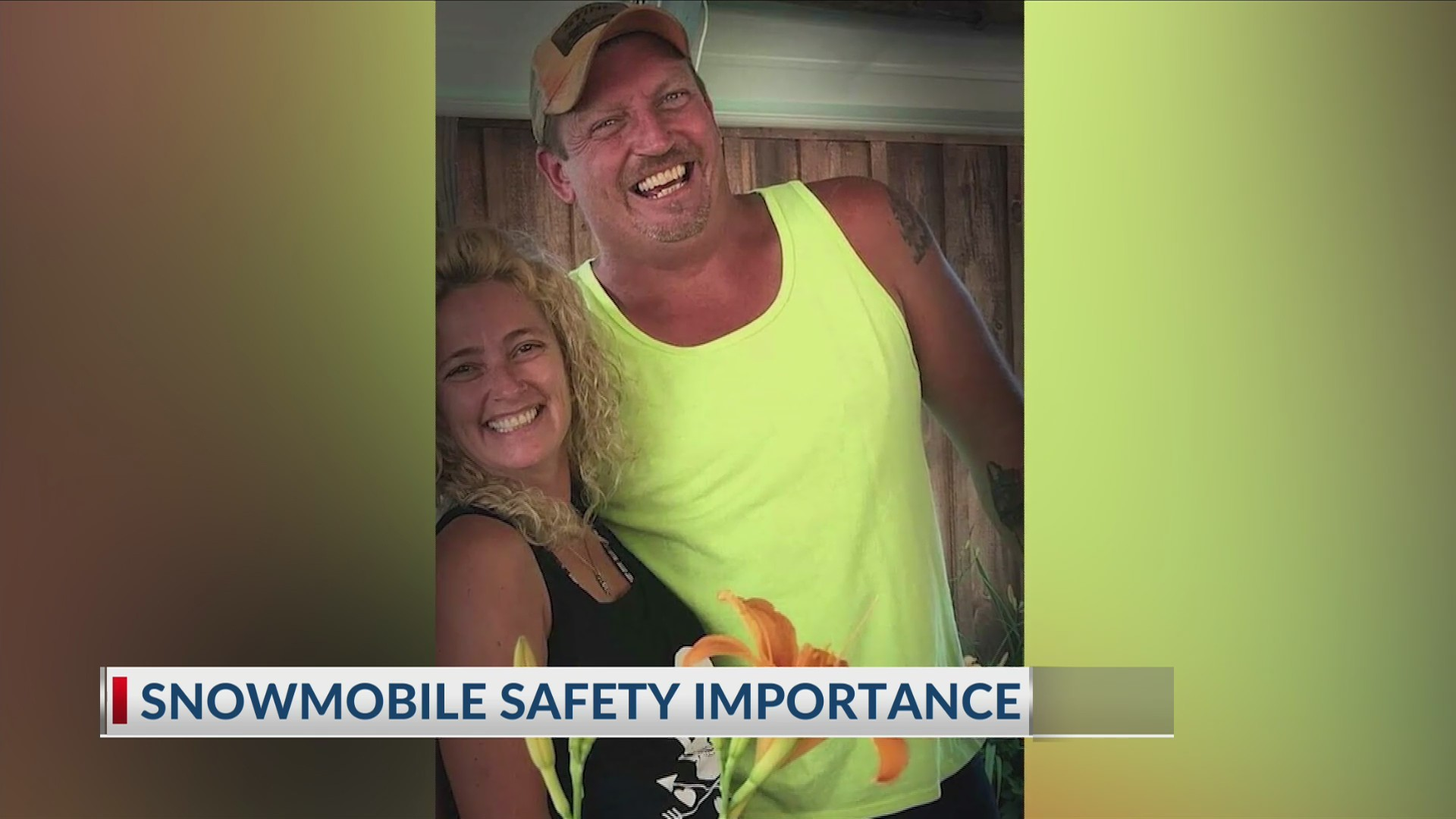 Husband speaks out in fatal snowmobile crash