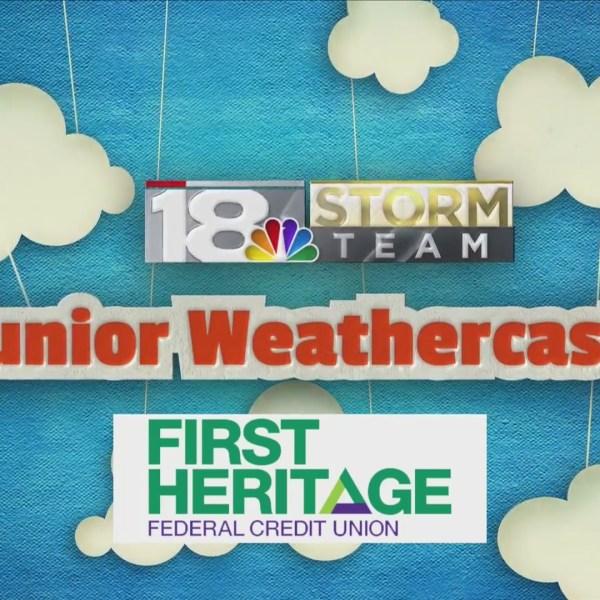 Junior Weathercaster: Amelia Manning