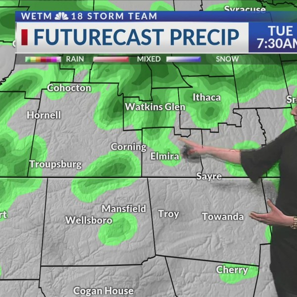 Monday Evening's 7-Day Forecast (5/13/19)