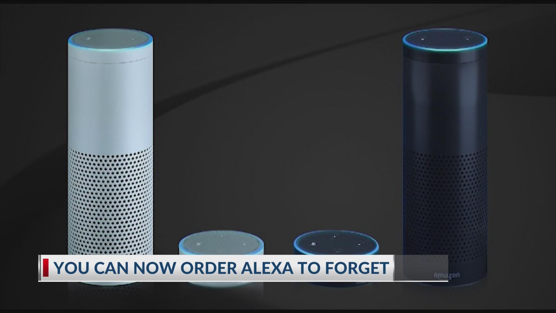 Order Amazon Alexa to Forget