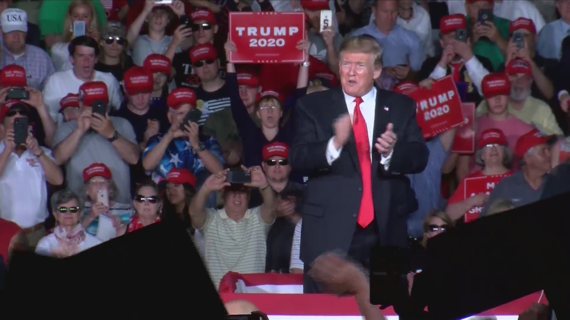 Supporter say President Trump's rally in Montoursville was best one yet