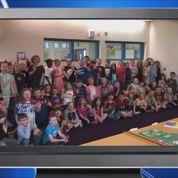 Weather Wisdom: Group 2 of the 2nd grade class from Pine City Elementary School
