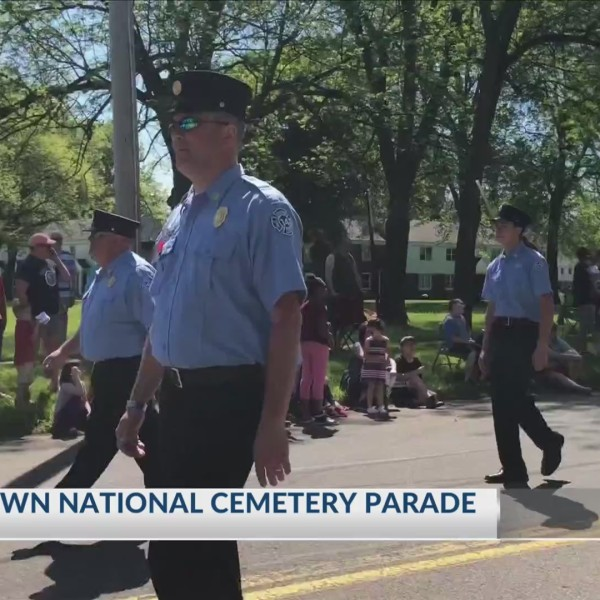 Woodlawn National Cemetery Parade