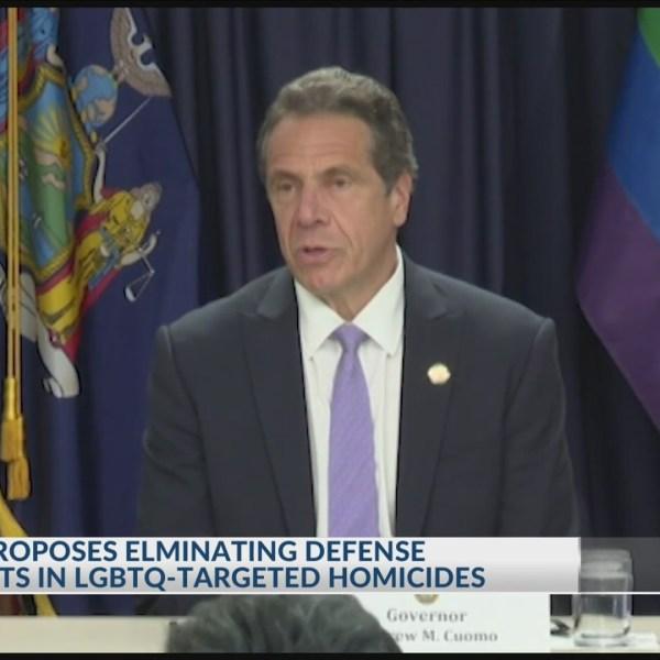 Cuomo proposes eliminating defense arguments in LGBTQ targeted homicides