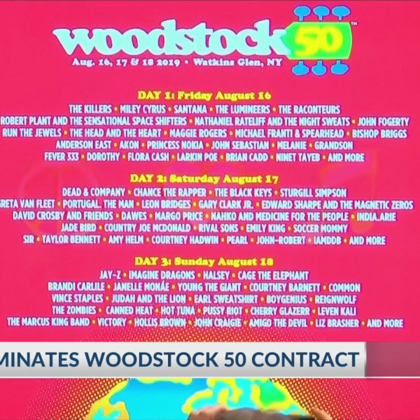 Financial impact of Woodstock 50