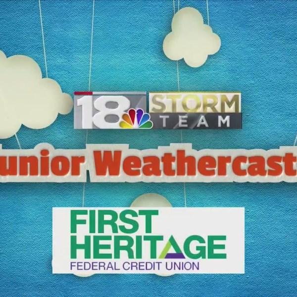 June's Junior Weathercaster