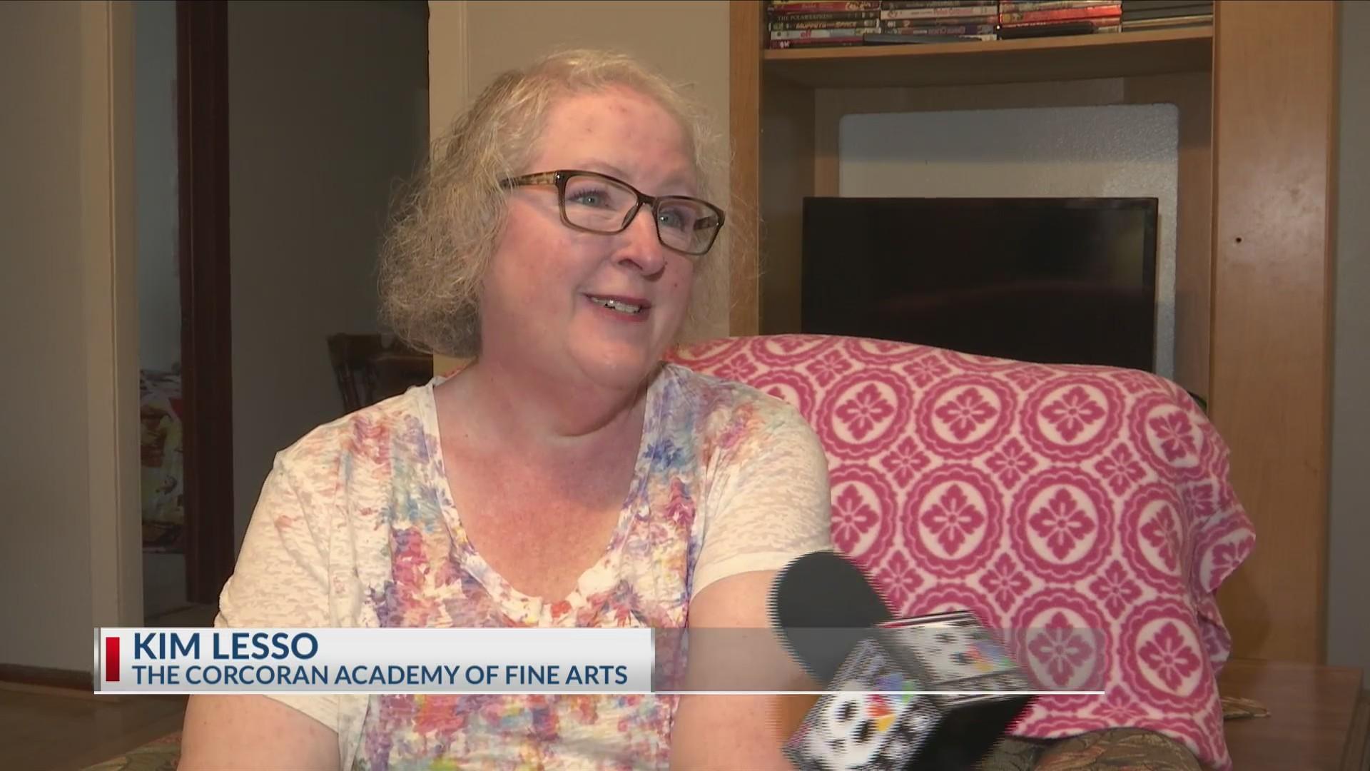 Local teacher gives back