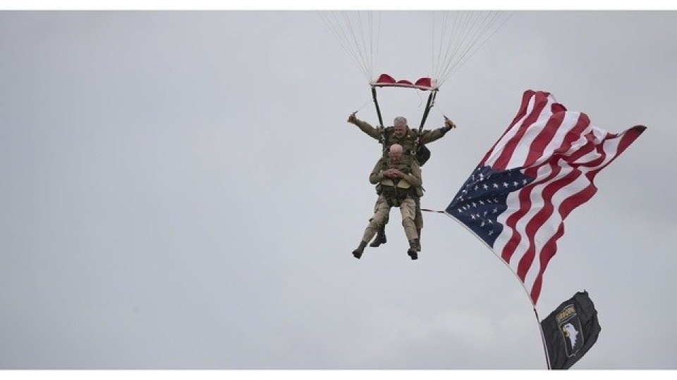 France D-Day Parachuting Over Normandy_1559842665024