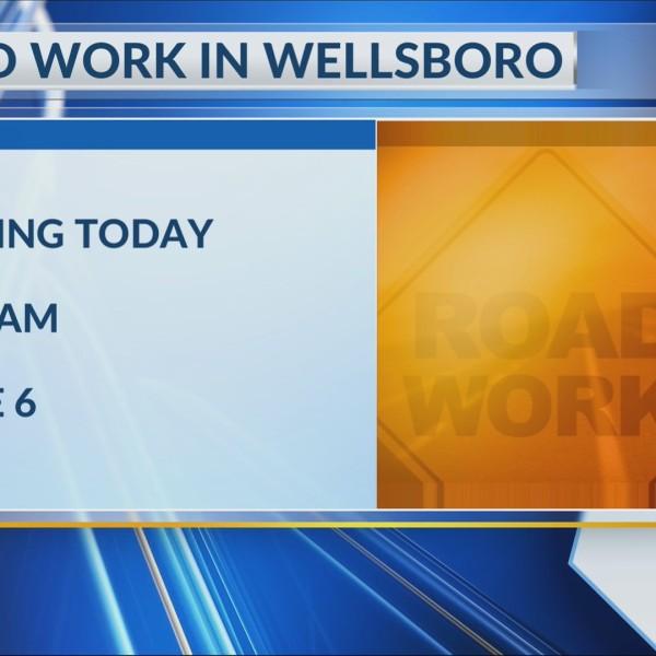 Road work in Wellsboro begins Thursday