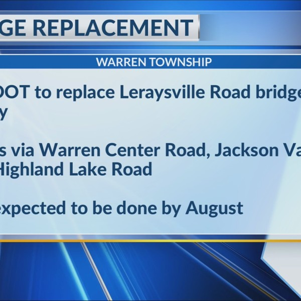 bridge replacement in Bradford County