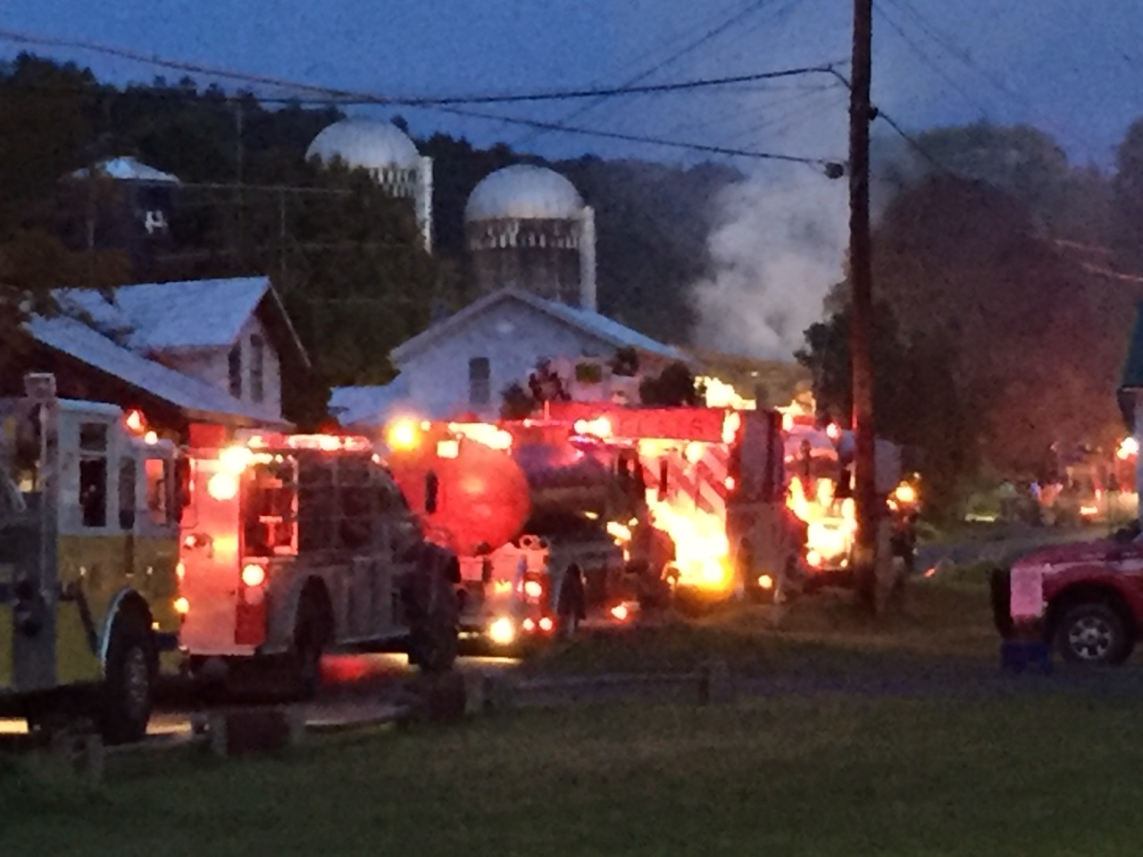 Fire crews respond to house fire in Pine Valley   WETM ...