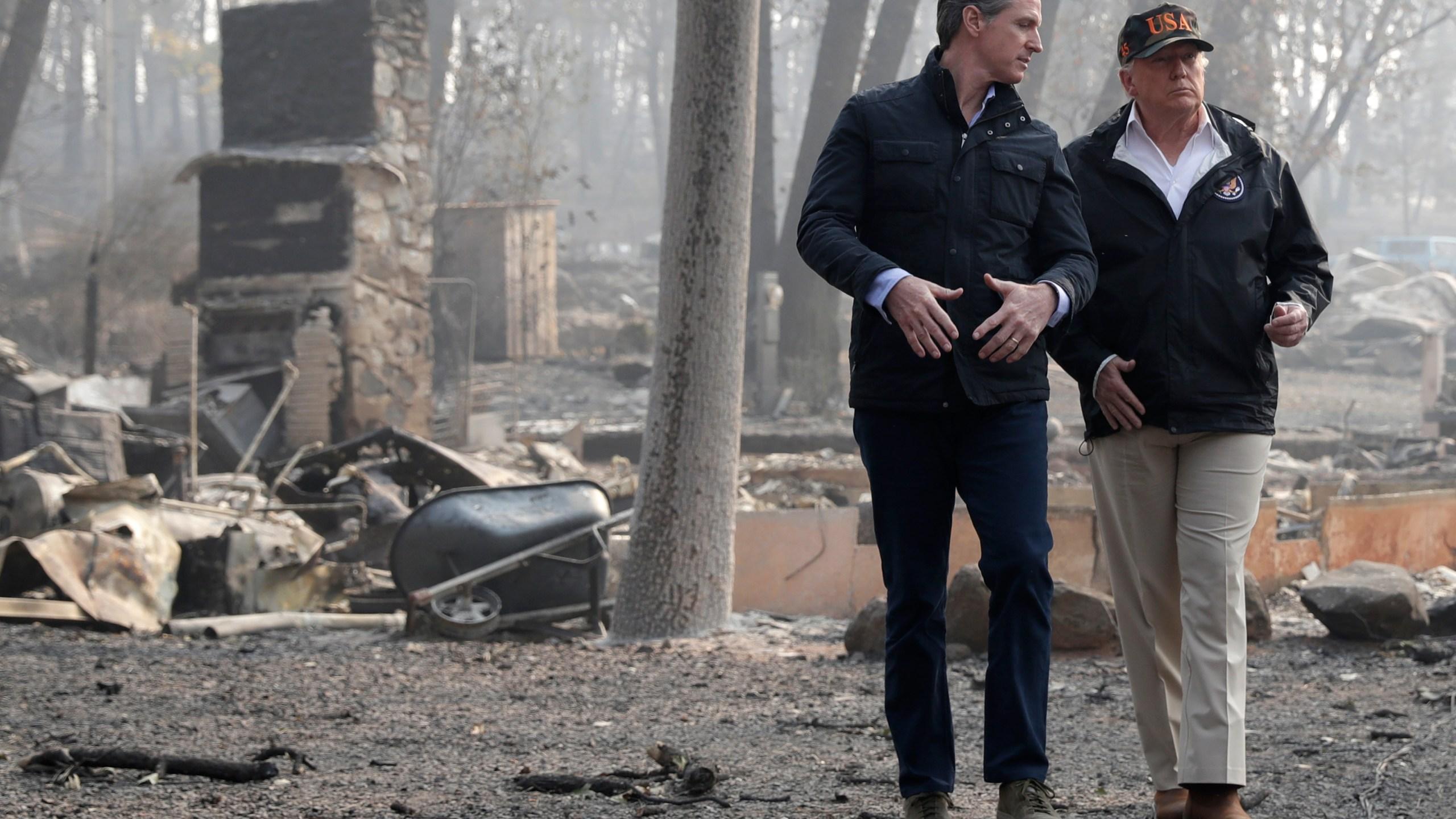 Donald Trump, Gavin Newsom