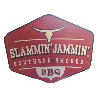 This image has an empty alt attribute; its file name is Slammin-Logo-from-web.jpg