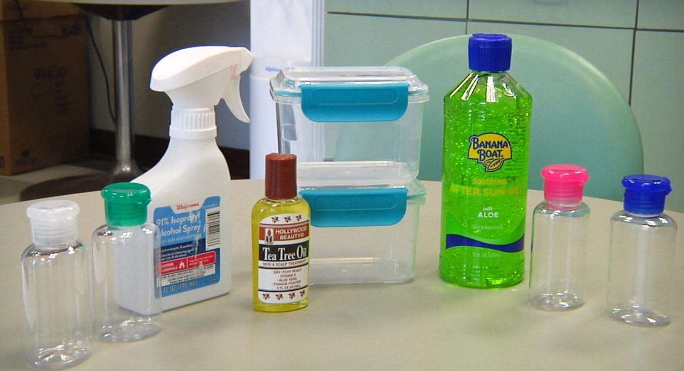 Diy Homemade Hand Sanitizer Formula From Who Youtube