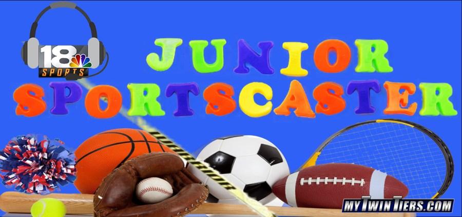 Junior Sportscaster Graphic