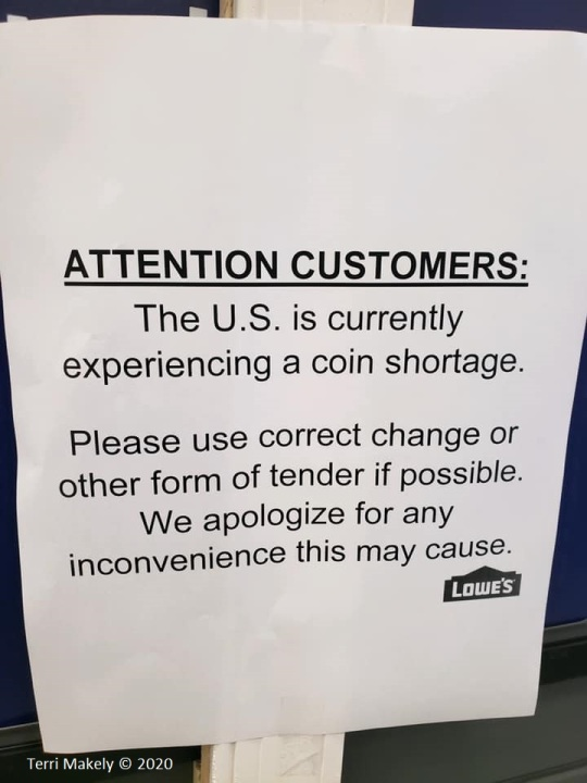 National coin shortage affecting local 7-Eleven