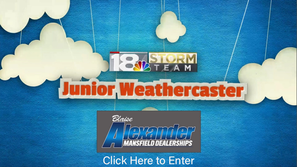 Junior Weathercaster Graphic to click to enter. Sponsored by Blaise Alexander