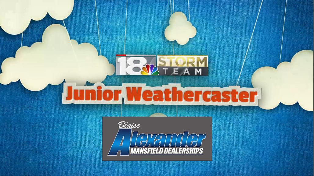 18 Storm Team Junior Weathercaster Graphic