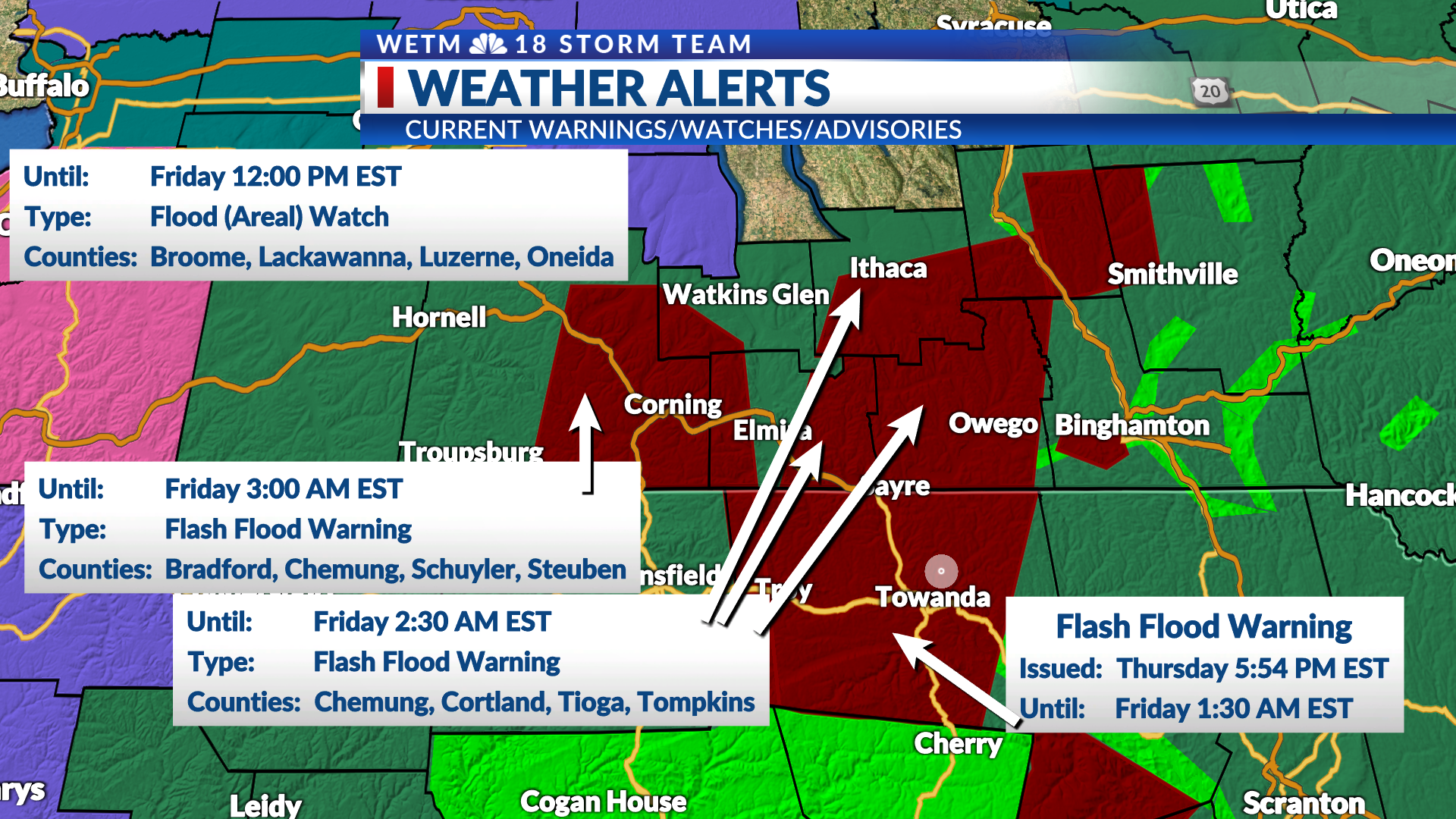 Flash Flood Warning Issued For Bradford County Track rain, snow and storms in piedmont triad, north carolina and virginia on the wxii 12 interactive radar. flash flood warning issued for bradford