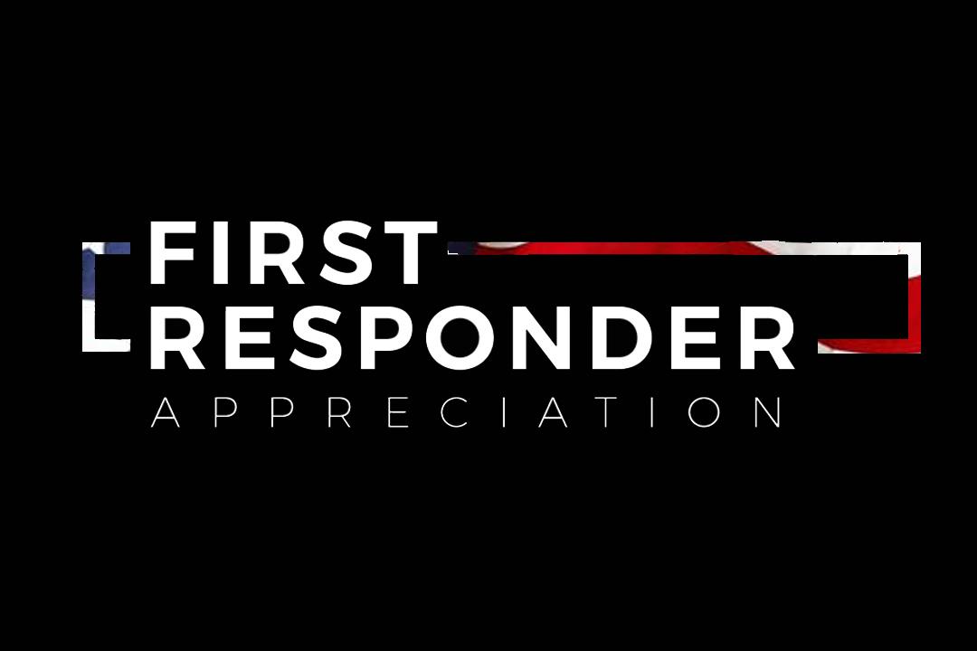 First Responder Appreciation Graphic