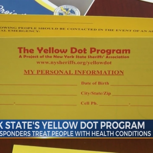 New York State's Yellow Dot Program for public safety
