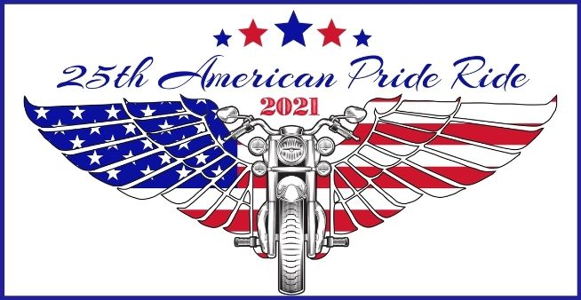 american pride ride logo