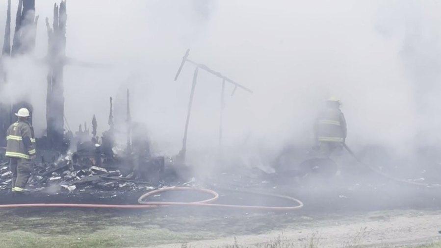 Mainesburg-Fire