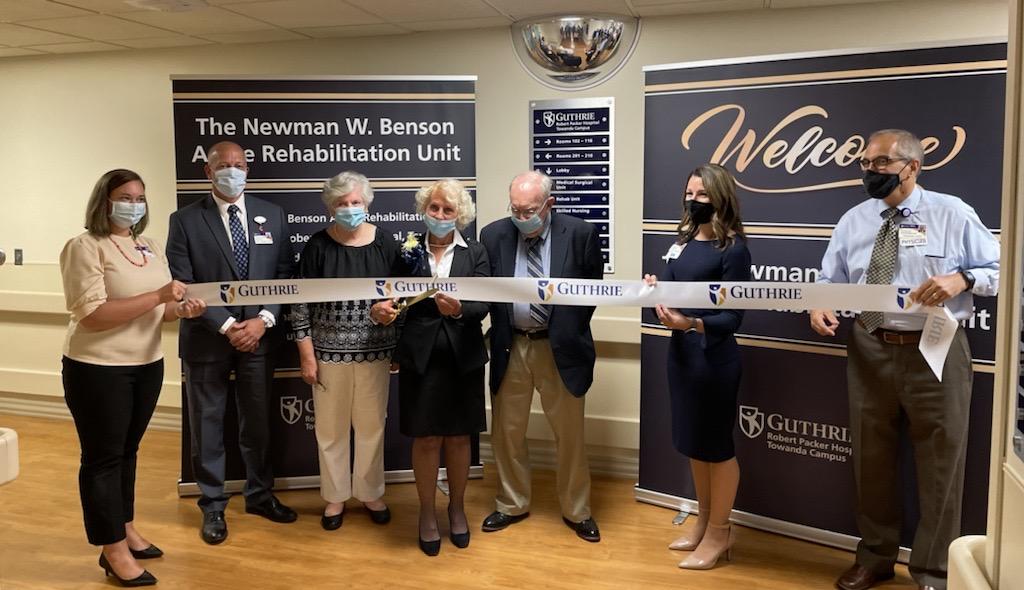 GUTHRIE OPENS NEWMAN W. BENSON ACUTE REHAB UNIT AT ROBERT PACKER HOSPITAL, TOWANDA CAMPUS