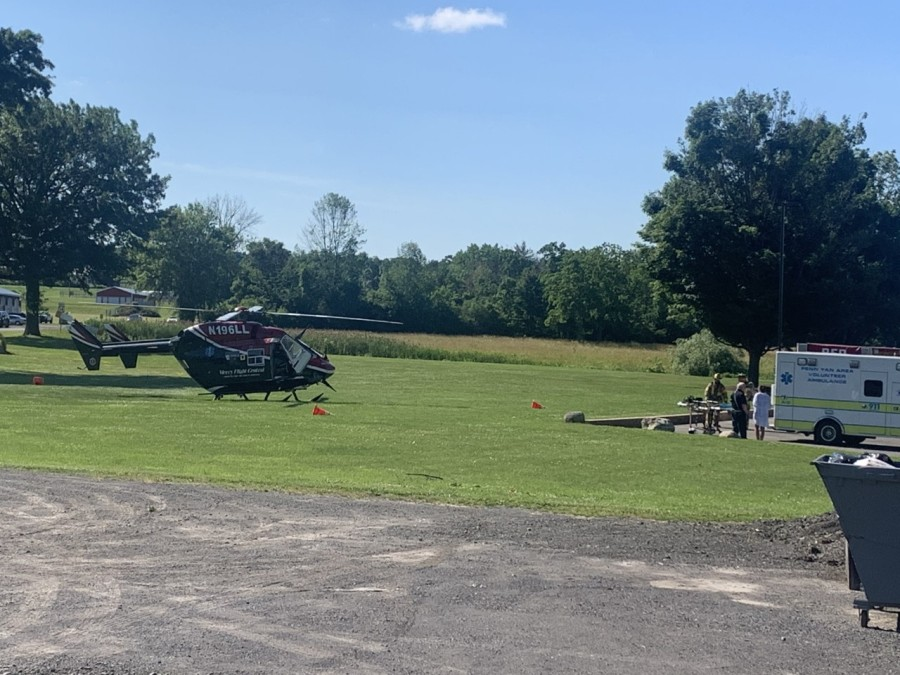 Man airlifted after near-drowning on Seneca Lake