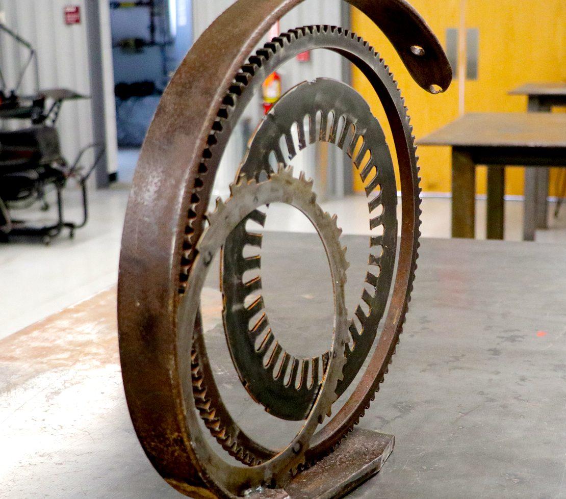 Corning CC Welding Sculpture