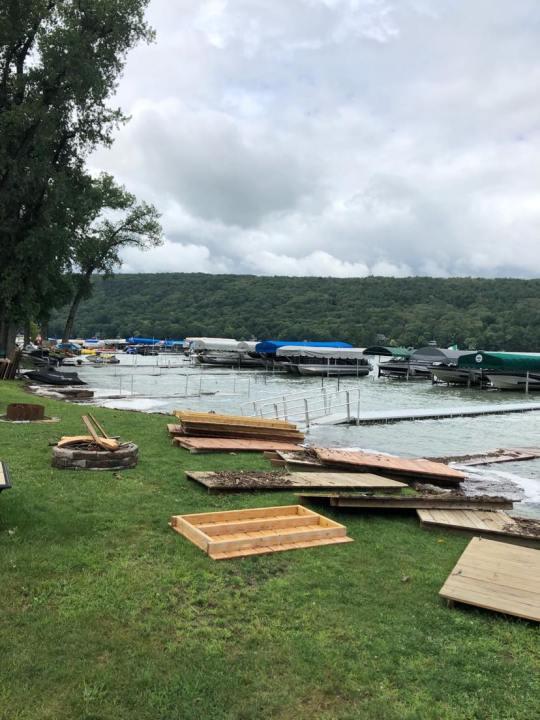 Keuka Lake Flooding