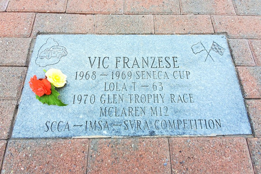 Vic Franzese walk of fame paver
