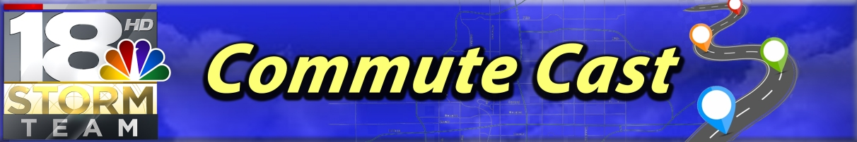 Commute Cast Graphic Header from the 18 Storm Team