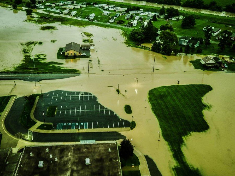 Tioga Flooding