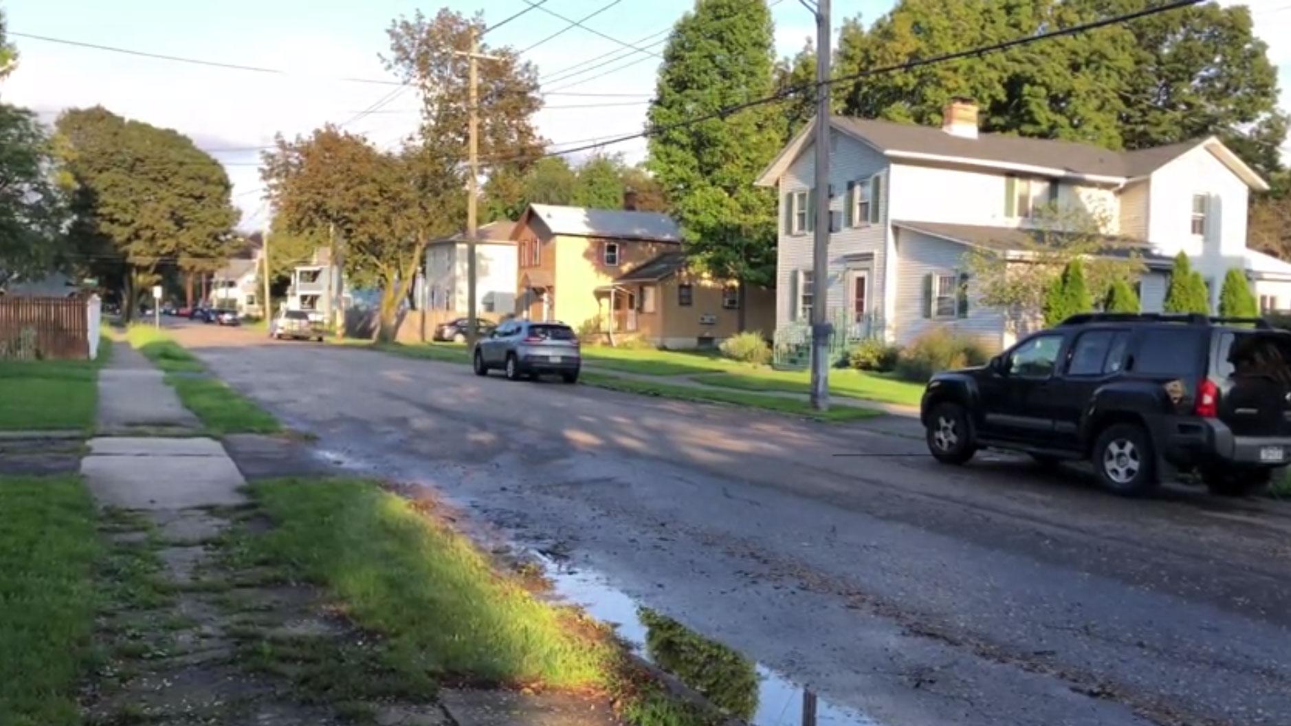 Elmira Shooting Euclid Street