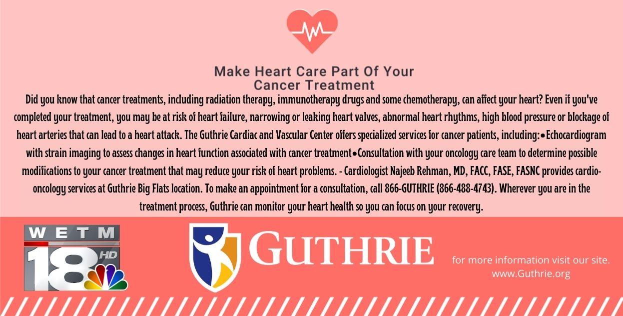 Guthrie Cancer Heart Care