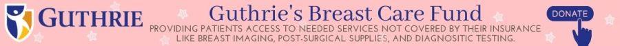 Guthrie Breast Care Fund Banner
