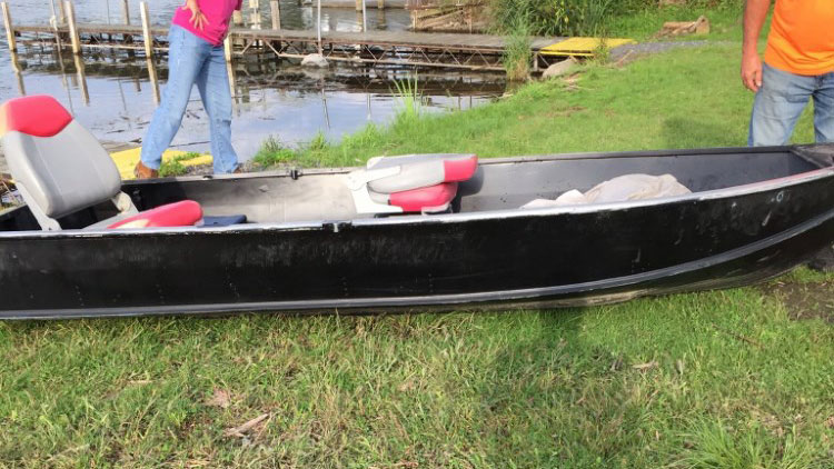 The Schuyler County Sheriff's Office is looking for the owner of a boat found floating on Seneca Lake.