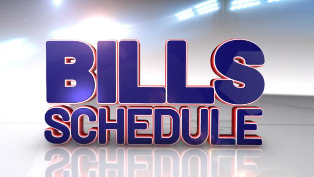 Bills Schedule