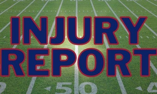Giants Injury Report