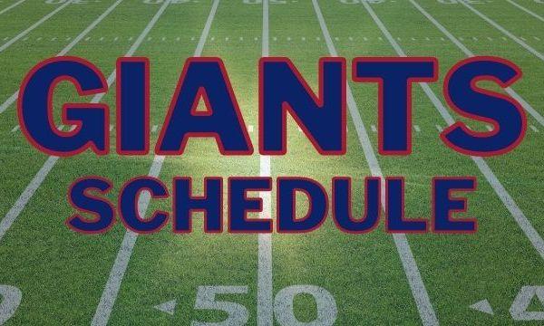 Giants Schedule