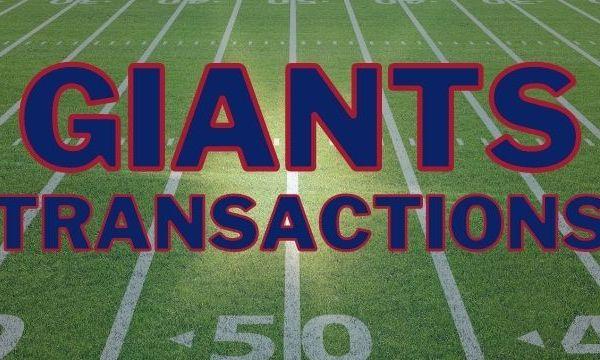 Giants Transactions