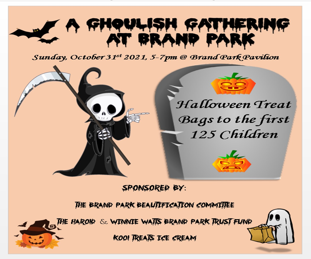 Ghoulish Gathering at Brand Park